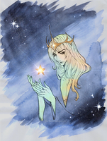 The Star - The Universe by LuzifersChoice