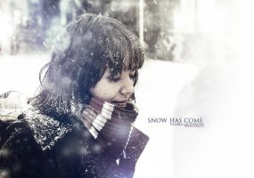 Snow has come by FrantisekSpurny
