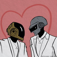Daft love by radioactivemoos