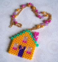 Dollhouse Dreamhouse Necklace by Cuddlebugeeshi