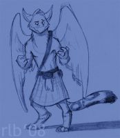 Kilted Griffin by Kobb