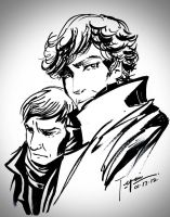 Sherlock sketch by tepaipascual