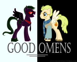 Good Omens cover now 20 percent cooler by kbakonyi