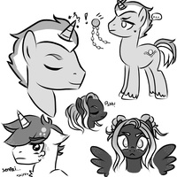 {pony doodles} by CorailJay