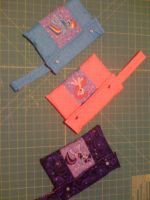 MLP:FiM iPad mini bags - RD, Twi, and Pinky by SmudgeDragon