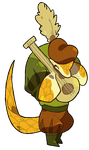 Pangolin Bard by cheepers