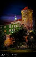 Wavel Royal Castle's Night Impression by artofphotograhy