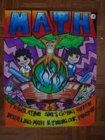 Math Month Poster by MystEryuNwanTed