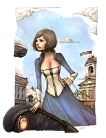 Bioshock Infinite by spowys