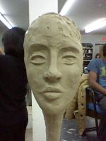 Last Day of Clay Modeling by GothNebula