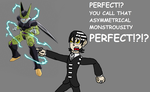 Death the Kid and Cell by Kanatamon1