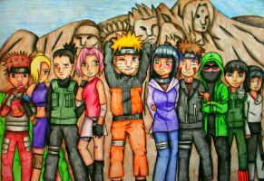 Naruto Group by bunnyrabb567