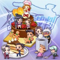 CHIBIS ACE ATTORNEY by CIWI by DYKC