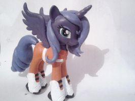 WIP Aperture Science Princess Luna Custom Pony by Oak23
