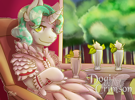 Mint Drinks by Dogi-Crimson