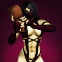 Mileena and Sackboy by KSE25