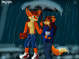 Crash and Lany ^^ by Tatujapa