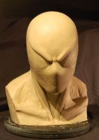 1:1 Black Spider-Man Bust WIP by MalottPro