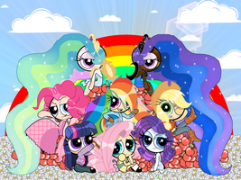 The MLP Family by PowerpuffBaylee