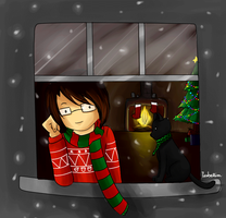 Nilesy Christmas Gif by isabellim