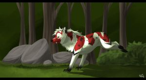 Forest by mokamutt