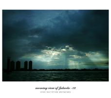 morning view of Jakarta - 02 by idiotgraphic