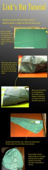 Link Cosplay hat tutorial by Eressea-sama