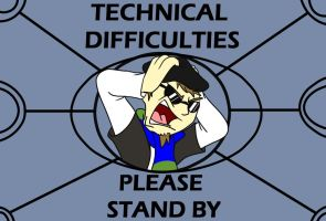 Technical Difficulties card by Slasher12