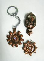 Steampunk stuff by TrollGirl