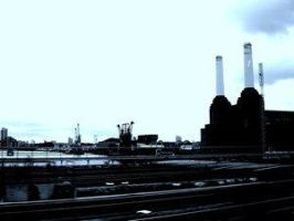 Power Station By Thames by UrbanShots