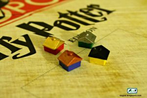Harry Potter Monopoly Houses by SugiAi