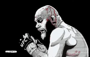 Keith Jardine by DredFunn