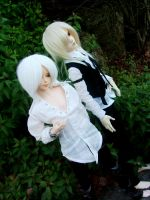 Lysander and Riv bein sexy mmm by OCD-4-BJD