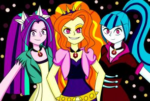 Request: The Dazzlings by Marie-Hoshiniwa