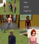 The Sims 2: AU Strangetown The Sims Family by SnowxChan