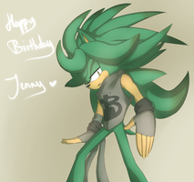 Happy Birthday Jenny by hayleigh