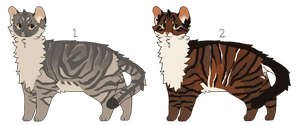 Open: Cat Adoptables by nargled