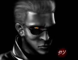 RE: Albert Wesker by V3R71CALH0R1Z0N