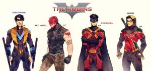 The Robins by Maby-chan