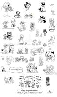 Comic Strip Flashback from 2012 by Frankyding90