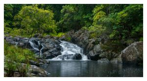 Cascades of Conondale by Cameron-Jung