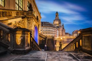 Dresden - Beautiful lights by Torsten-Hufsky