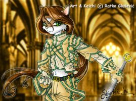 Keichi-my 1st original anthro by Shintei-chan