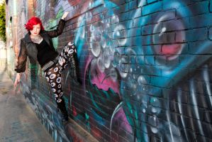 Graffiti Wall 3 by Mistress-Zelda