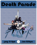 Anime - Death Parade - Icon by skywind08