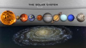 The Solar System V1 by StArL0rd84