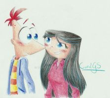 :Phineas and Isabella: by CarolGS