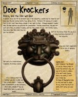 Labyrinth Guide Door Knocker 1 by Chaotica-I