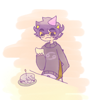 6/12 HAPPY BIRTHDAY KARKAT by Tsuki-Hana05