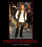 Demotivational Poster: Photo Bombing by xHetalia-Otakux